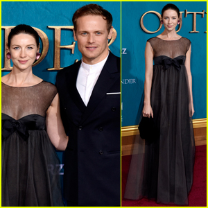 Caitriona Balfe & Sam Heughan Reveal Big 'Outlander' News at Season Five Premiere!