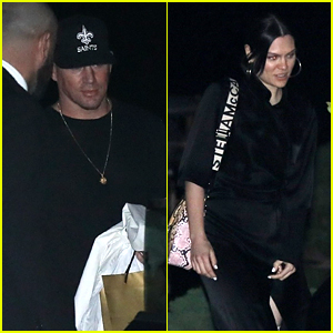Channing Tatum & Jessie J Head Out To Dinner With Friends