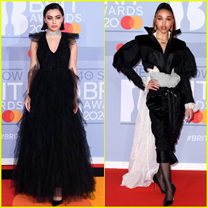 Charli XCX & FKA Twigs Stun on BRIT Awards 2020 Red Carpet!