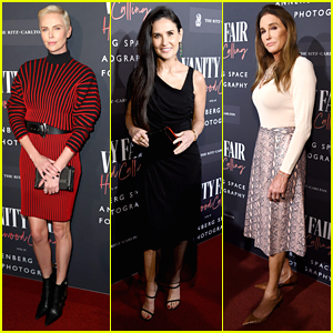 Demi Moore, Charlize Theron & Caitlyn Jenner Step Out For Vanity Fair's Hollywood Calling Exhibit Opening