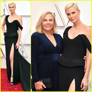 Charlize Theron Brings Mom Gerda To Oscars 2020
