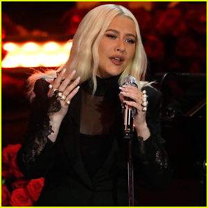 Christina Aguilera Honors Kobe Bryant by Performing 'Ava Maria' in Italian at Celebration of Life - Watch Now
