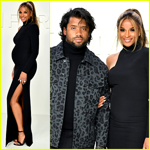 Ciara Shows Off Baby Bump at Tom Ford Fashion Show