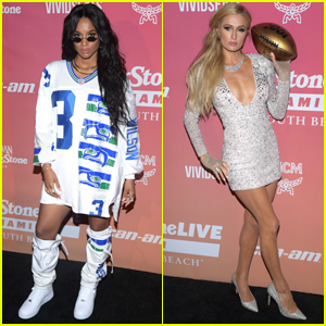 Pregnant Ciara Wears Husband Russell Wilson's Jersey to Rolling Stone Super Bowl Party
