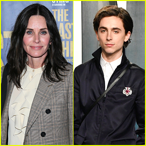 Courteney Cox Says Timothee Chalamet Would Be The Perfect Joey Tribbiani in a 'Friends' Reboot