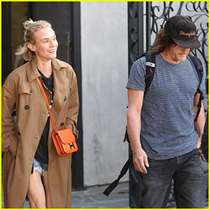 Diane Kruger & Norman Reedus Go On a Lunch Date in L.A.