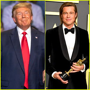 Donald Trump Takes a Shot at Brad Pitt's Oscars Speech