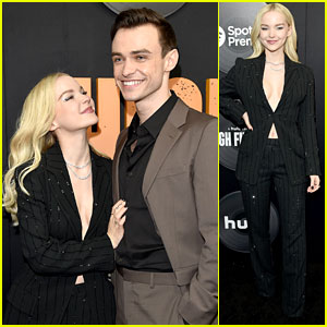 Dove Cameron Is a Supportive Girlfriend at Thomas Doherty's 'High Fidelity' Premiere!