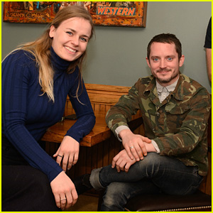 Elijah Wood & Girlfriend Mette-Marie Kongsved Welcome ...