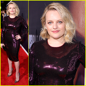 Elisabeth Moss Stuns In Pink For 'The Invisible Man' Premiere in Hollywood