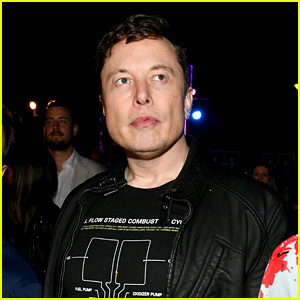 Elon Musk Attends Sports Illustrated's Super Bowl Party in Miami