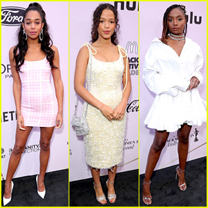 Laura Harrier, Taylor Russell, & More Rising Stars Join 'Essence' at Black Women in Hollywood Luncheon
