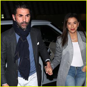 Eva Longoria & Husband Jose Baston Hold Hands on Date Night