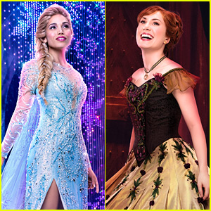 Broadway's 'Frozen' Will Introduce a New Song Tonight, Along with New Stars as Elsa, Anna, & Hans