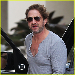 Gerard Butler Looks Handsome Heading to a Business Meeting in LA
