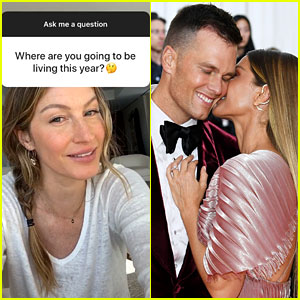 Gisele Bundchen Doesn't Know Where She'll Live in 2020, But Will Go Wherever Tom Brady Plays Football