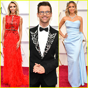 Giuliana Rancic, Brad Goreski, & Kristin Cavallari Walk the Oscars 2020 Red Carpet!