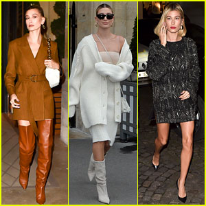 Hailey Bieber Wore Eight Chic Outfits During Quick Trip to Paris