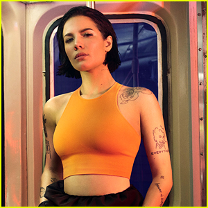 Halsey Rides NYC Subway in DKNY's Spring 2020 Campaign