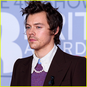 Harry Styles Seems to Pay Tribute to Caroline Flack at BRITs 2020