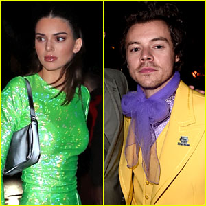 Kendall Jenner & Harry Styles Reunite at BRIT Awards 2020 After-Party!