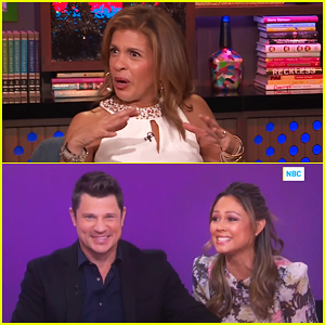 Hoda Kotb Weighs In On Awkward Moment When Nick & Vanessa Lachey Denied They Sent Jessica Simpson a Gift!