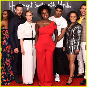 Viola Davis Joins 'How to Get Away With Murder' Cast at Series Wrap Party!