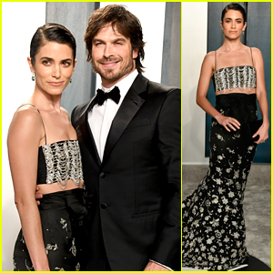 Ian Somerhalder & Nikki Reed Couple Up for Oscars 2020 Party
