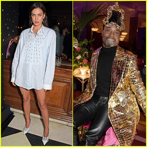Irina Shayk & Billy Porter Live It Up at Universal Music BRIT Awards 2020 After Party!
