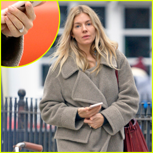Is Sienna Miller Engaged? Actress Wears Diamond Ring on That Finger