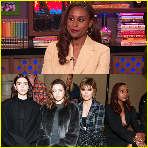 Issa Rae Reacts To Now Viral Fashion Week Photo with Lisa Rinna & Her Daughters - Watch Here!