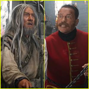 Jackie Chan & Arnold Schwarzenegger Battle It Out in 'Iron Mask' Trailer - Watch!