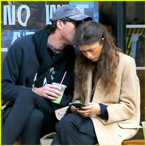 Jacob Elordi Gives Zendaya a Kiss During Casual NYC Outing