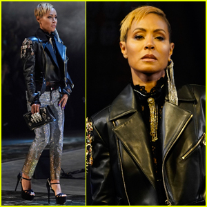 Jada Pinkett-Smith Struts Her Stuff in Philipp Plein Milan Fashion Show
