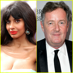 Jameela Jamil Calls Out Piers Morgan for Sharing Caroline Flack's DMs About Her