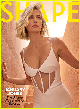 January Jones Used to Lie About Working Out While Filming 'X-Men,' But Her Mindset Has Changed