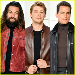 Jason Momoa, Joe Alwyn & Matt Bomer Looked Really Good at Tom Ford's Fashion Show