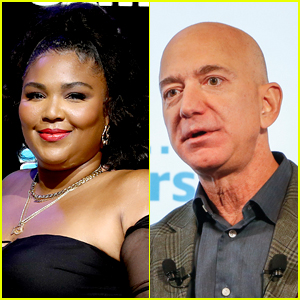 Jeff Bezos Snaps Selfie with Lizzo, Proclaims He's Her 'Biggest Fan'