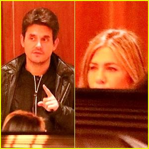 John Mayer Grabs Dinner at the Same LA Hotspot as Ex Jennifer Aniston!
