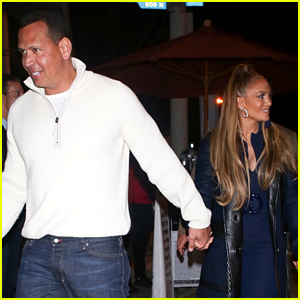 Jennifer Lopez & Alex Rodriguez Couple Up for Early Valentine's Dinner