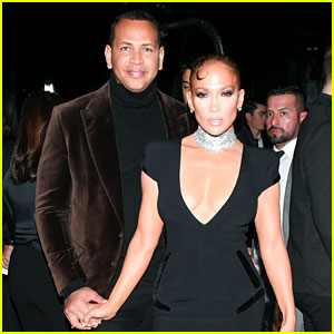 Jennifer Lopez Couples Up with Alex Rodriguez at Tom Ford Show, Meets Jeff Bezos