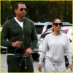 Jennifer Lopez & Alex Rodriguez Wrap Up Their Weekend with a Workout