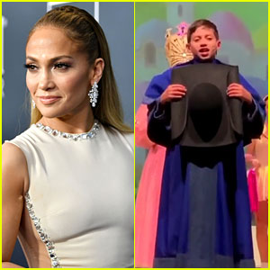 Jennifer Lopez Shares Video of Son Max Playing a Munchkin in 'Wizard of Oz' School Play!