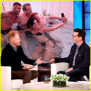 Jesse Tyler Ferguson Reveals How He Ended Up in a Hot Tub with David Beckham