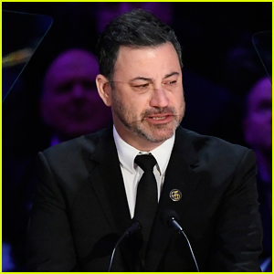 Jimmy Kimmel Breaks Down in Tears While Honoring Kobe Bryant at His Memorial - Watch Now