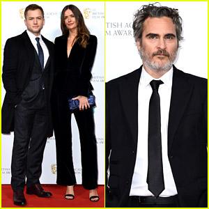 Joaquin Phoenix, Taron Egerton, & More BAFTAs Nominees Attend Party at Kensington Palace!