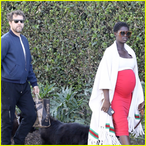Jodie Turner-Smith Puts Baby Bump on Full Display While Out with Hubby Joshua Jackson!