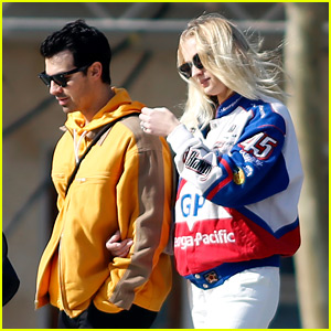 Expectant Parents Joe Jonas & Sophie Turner Go Sightseeing in Barcelona Ahead of His Show