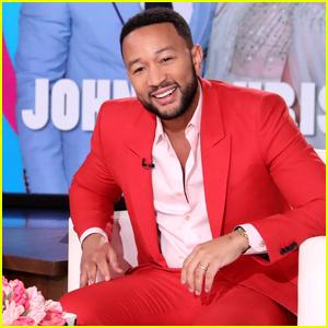 John Legend Says He Loves Chrissy Teigen's 'Unique' Feet in Hilarious Valentine's Day Tribute - Watch!