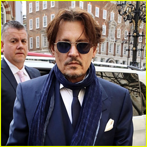 Johnny Depp Arrives to Court for UK Tabloid Libel Lawsuit Regarding Amber Heard Abuse Allegations